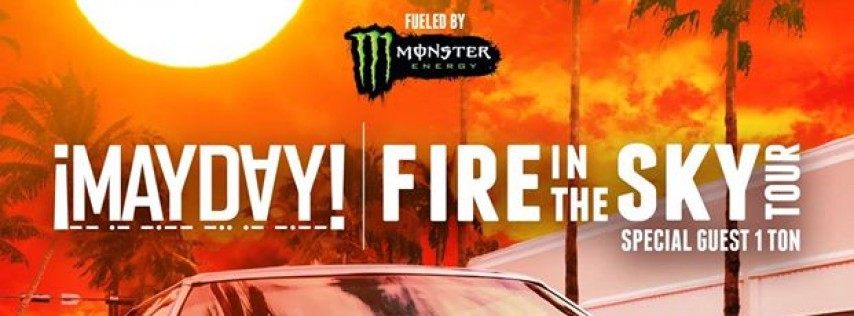 Tampa, FL - ¡Mayday! Fire In The Sky Tour