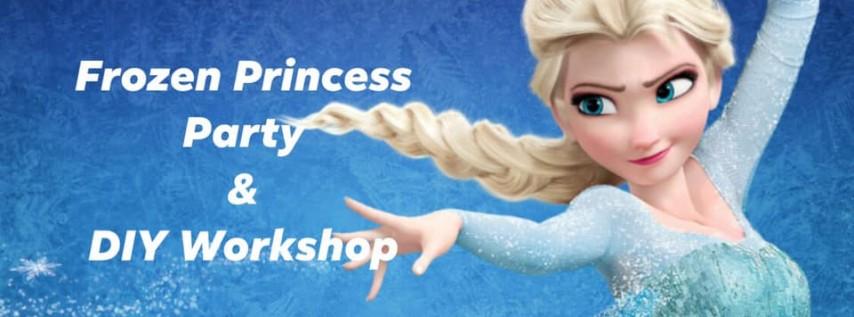 Frozen Princess Party & DIY Workshop