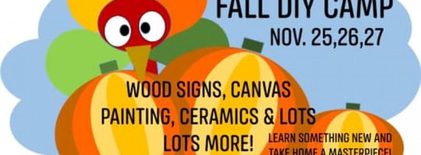 Fall DIY & Art Camp