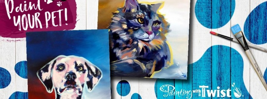 Paint Your Pet - Seating is Limited