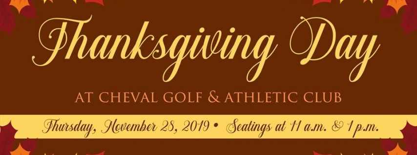 Thanksgiving Day at Cheval