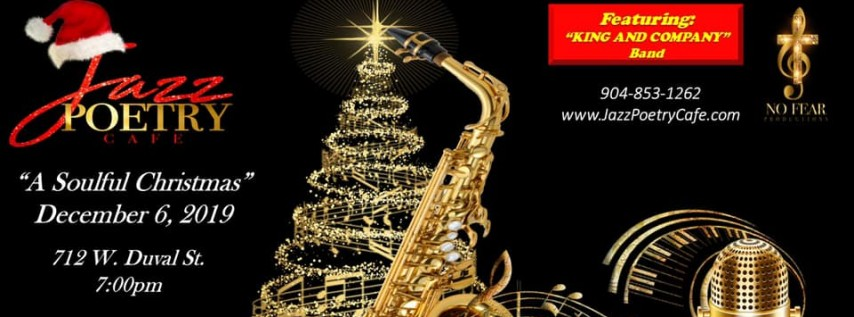 Jazz Poetry Cafe // 'A Soulful Christmas'