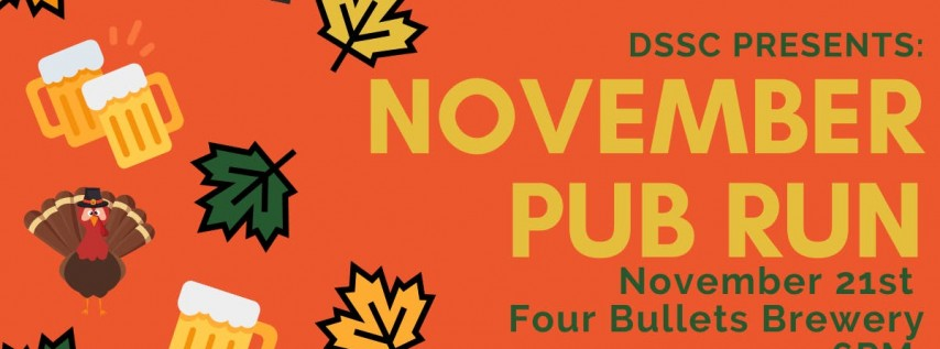 November Pub Run: Four Bullets Brewery