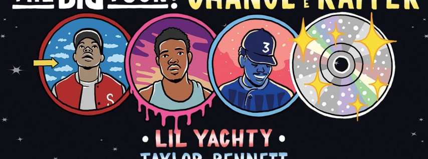 Chance The Rapper: The Big Tour! w/ Lil Yachty & Taylor Bennett