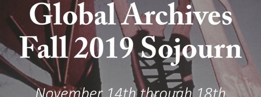 ICA Global Archives Fall Sojourn
