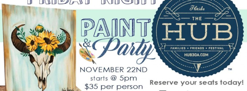Paint & Party with Eyecatchers Artworks!