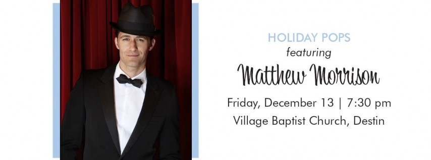 Holiday Pops Concert featuring Matthew Morrison