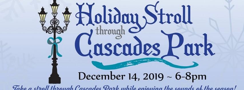 Holiday Stroll through Cascades Park (Free)