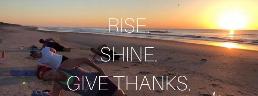 Thanksgiving Sunrise Workout