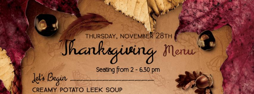 Thanksgiving at Cremesh