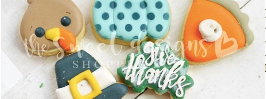 SweetsGiving- A Cookie Decorating Class