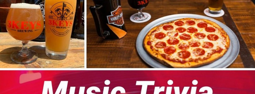 Music Trivia & New Beer Releases