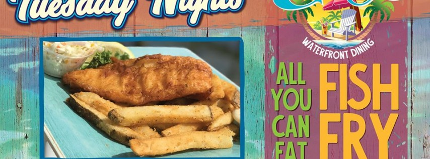 AYCE Fish Fry Every Tuesday