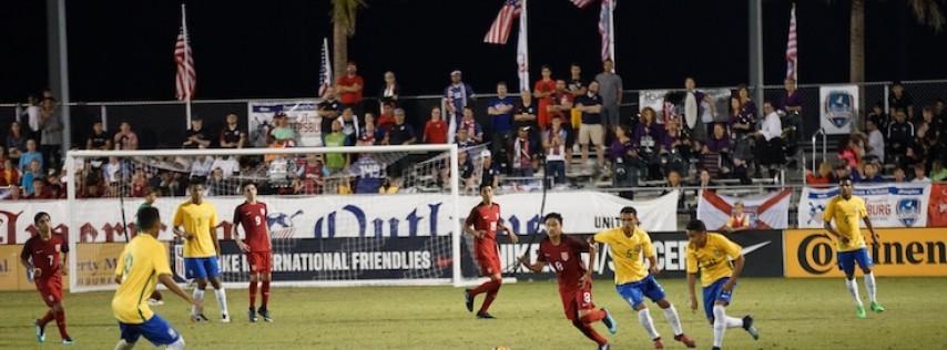 Nike International Friendlies USA U16 vs U17 Teams