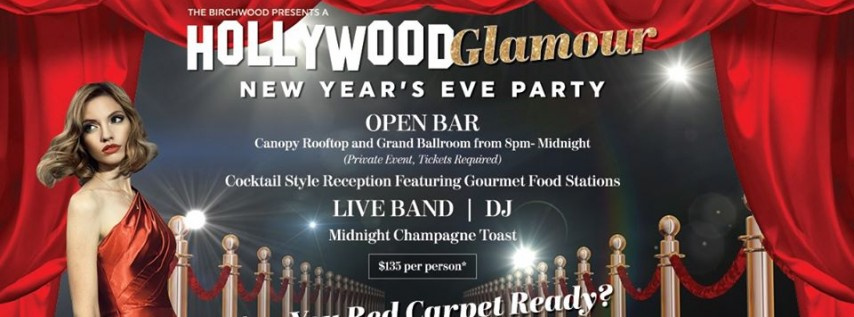 New Year's Eve at The Birchwood: Hollywood Glamour