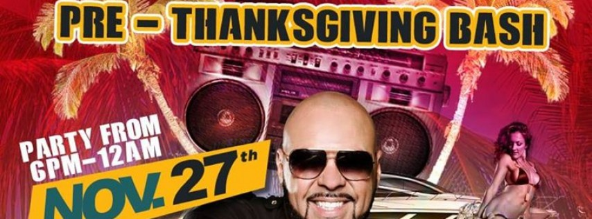 DJ LAZ Pre-Thanksgiving Bash!