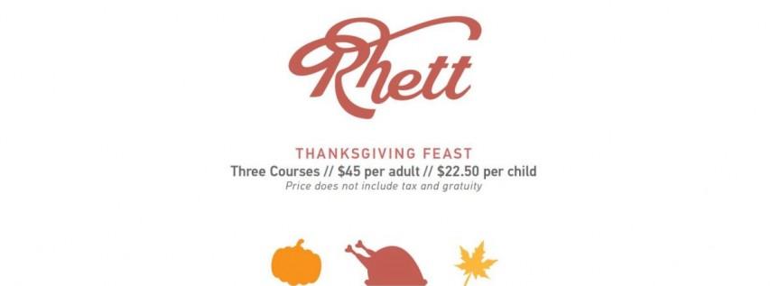 Rhett Thanksgiving Feast