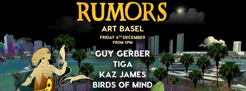 Rumors Art Basel 2019