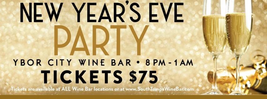 Ybor City Wine Bar: 2019 New Year's Eve Party