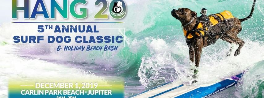 5th Annual Hang 20 Surf Dog Classic & Holiday Beach Bash