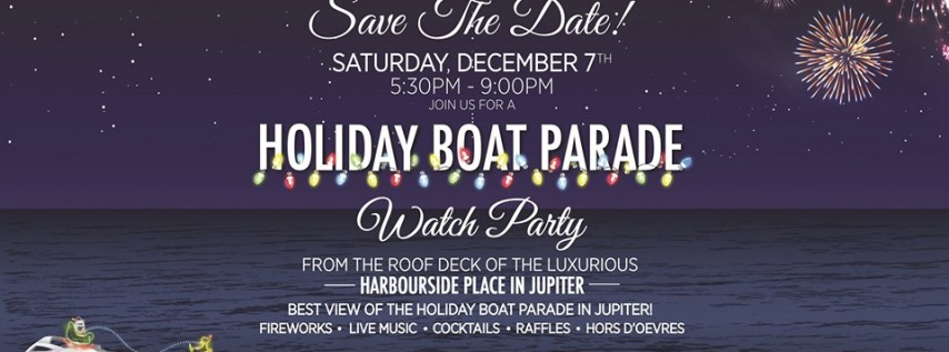 2019 Furry Friends Holiday Boat Parade Watch Party