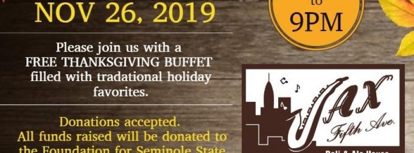 7th Annual Thanksgiving Customer Appreciation Dinner