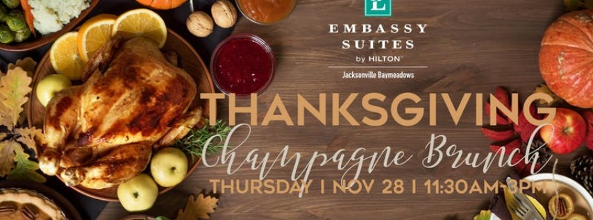 Thanksgiving Champagne Brunch
