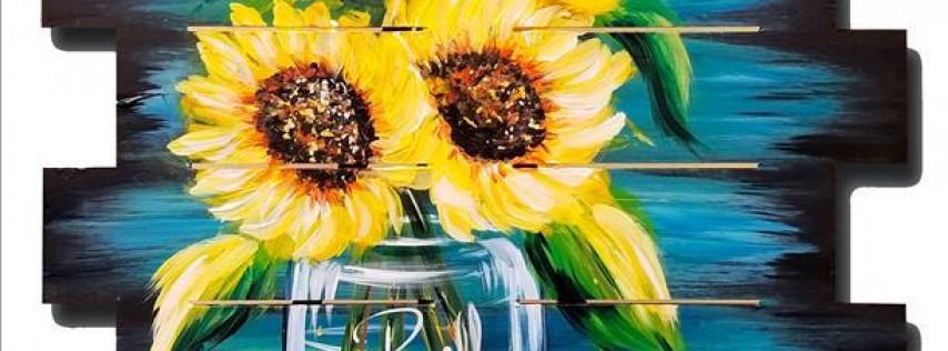 Happy Sunflowers Pallet