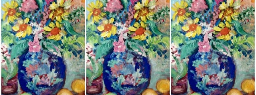 Finger Painting for Adults with Art by JAP