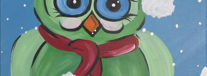 Cozy Christmas Owl **Manic Monday-$10 Off**