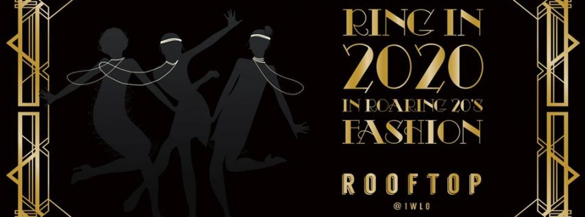Roaring 20's NYE 2020 at Rooftop