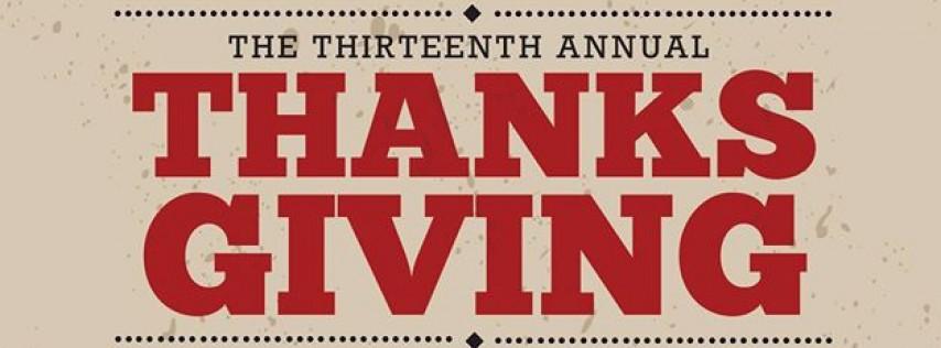 Thanksgiving Charity Dinner