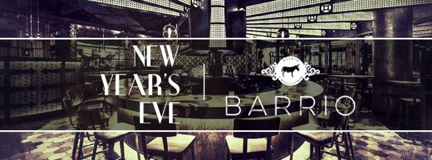 New Year's Eve Chicago at Barrio