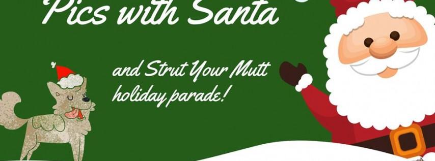 Pics with Santa & Mutt Parade!
