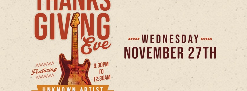 Thanksgiving Eve Party at Jack's Corner Tap