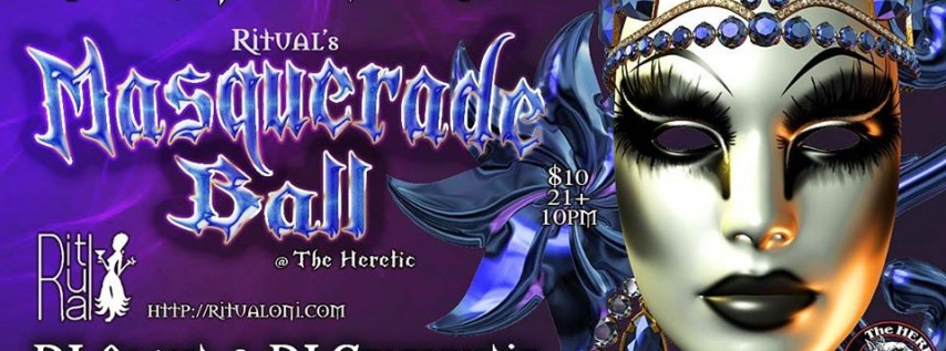 Ritual: Masquerade Ball (Goth Industrial Event)