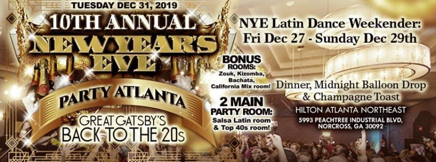 Atlanta New Year's Eve Back to the 20's Party