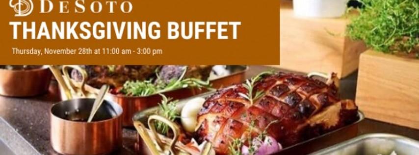 The DeSoto Thanksgiving Buffet