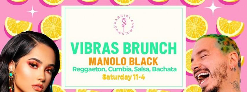 Vibras Brunch: Latin, Reggaeton, Cumbia & Salsa