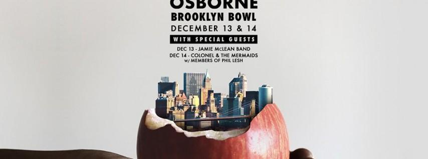 Relix Presents Anders Osborne at Brooklyn Bowl - 2 Nights