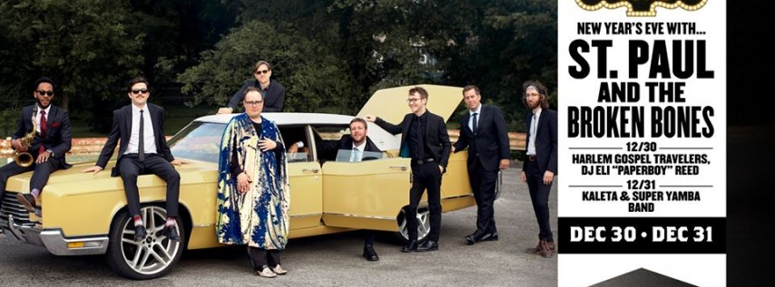 New Year's Eve with St. Paul and The Broken Bones