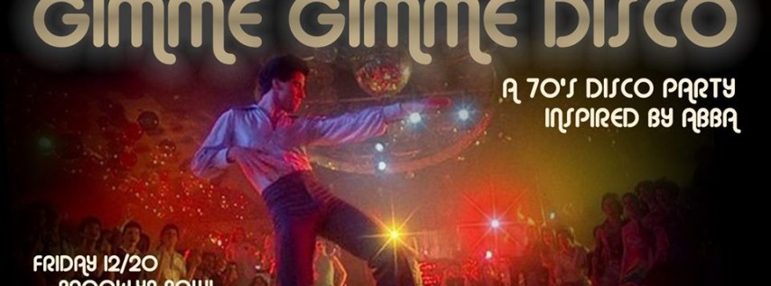 Gimme Gimme Disco: A 70's Disco Dance Party Inspired by ABBA