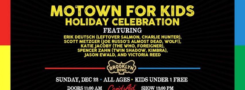 Motown for Kids ft. Erik Deutsch, Scott Metzger + more!