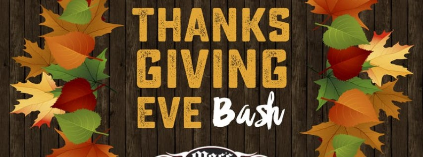 Thanksgiving Eve Bash with Live Music at Mac's Speed Shop in Fayetteville!