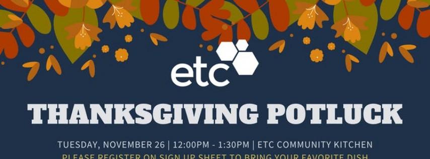 ETC Thanksgiving Potluck