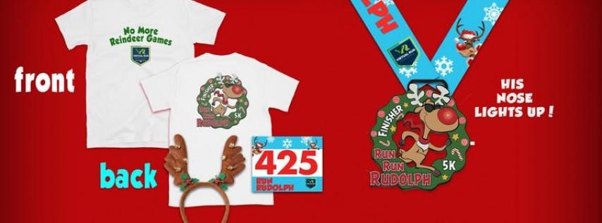 2019 - Run Run Rudolph Virtual 5k Run Walk - Jersey City