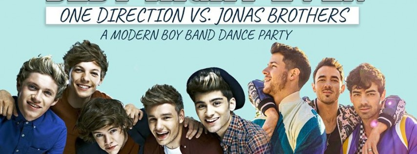 Best Night Ever: One Direction vs Jonas Brothers Dance Party