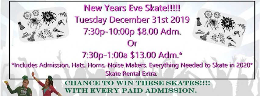 NYE Evening Skate Party