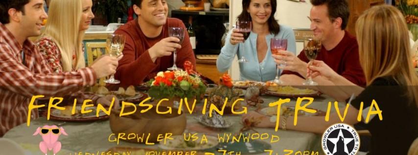 Friendsgiving Trivia at Growler USA Wynwood