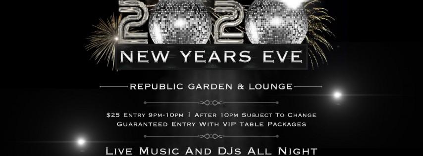 Republic Garden & Lounge NYE Party